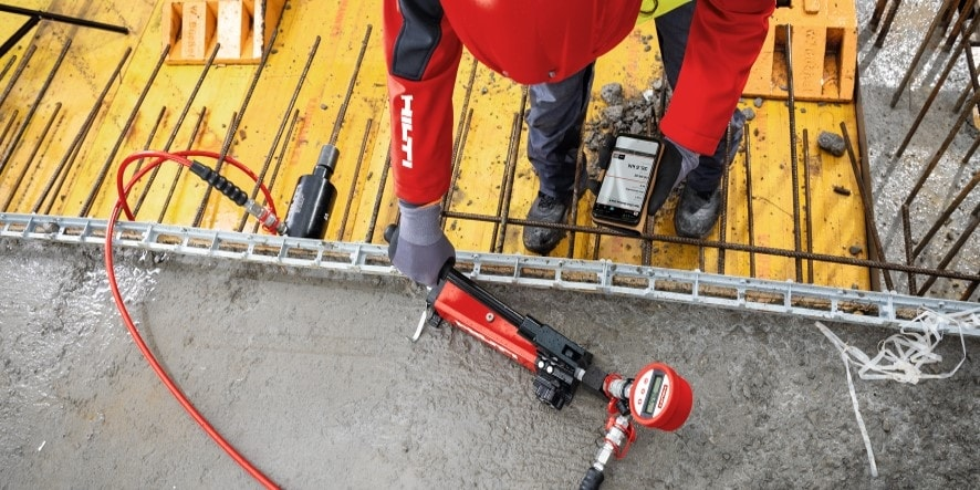 Hilti anchors for mechanical and electrical support
